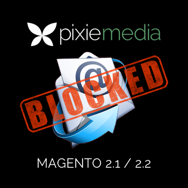 Pixie Media Block Domain From Registration (Magento 2.1 & 2.2)