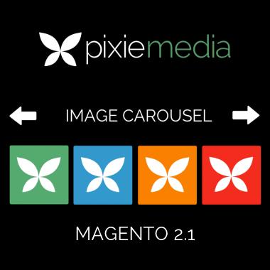 Pixie Media Image Carousel (Magento 2.1)