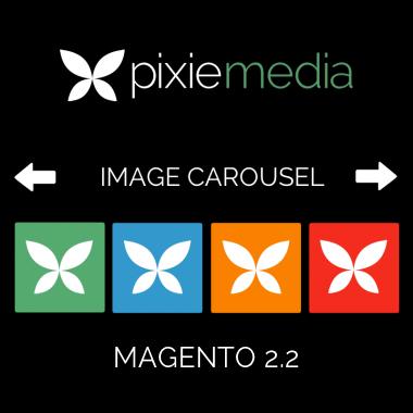 Pixie Media Image Carousel (Magento 2.2)