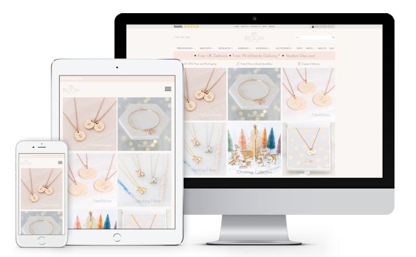 Bloom Boutique Ecommerce