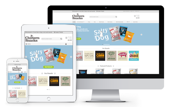 Chiltern Snacks eCommerce