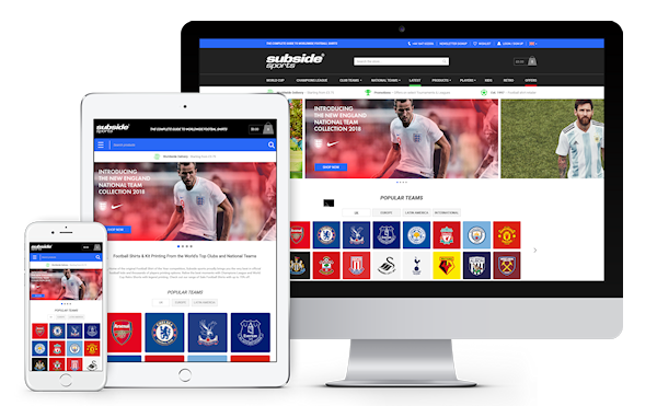 Subside Sports eCommerce