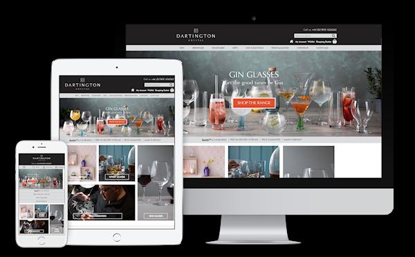 Dartington Crystal eCommerce