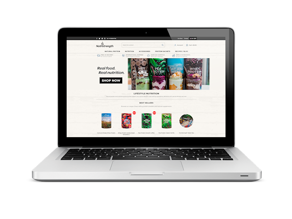 Food Sports Nutrition Magento