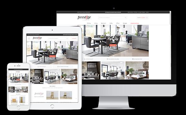 Prestige Furniture eCommerce