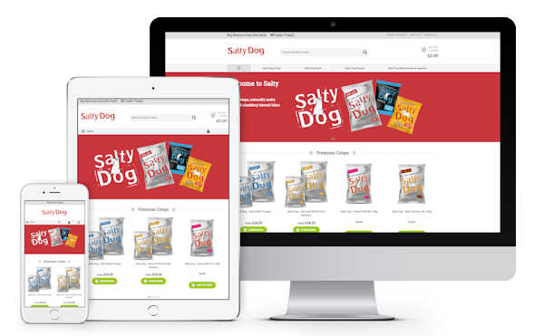 Salty Dog Ecommerce