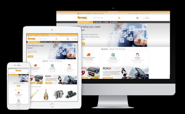 Sparex eCommerce